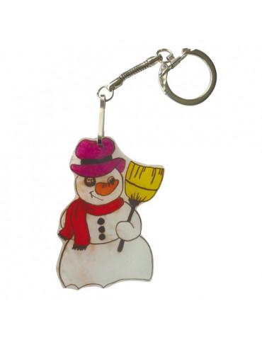 KIT Plastique dingue porte clés Formes Noel