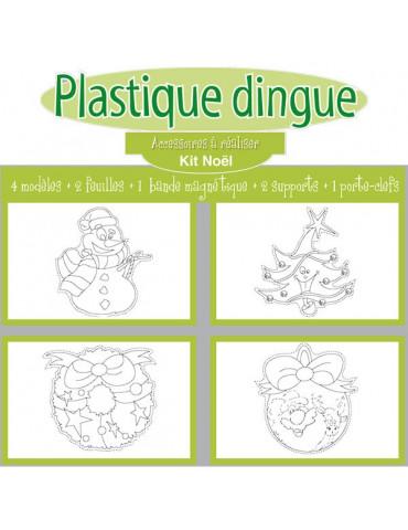Kit Plastique Dingue Noel
