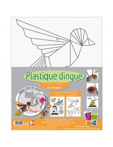 Kit Plastique dingue Sautoirs Oiseaux