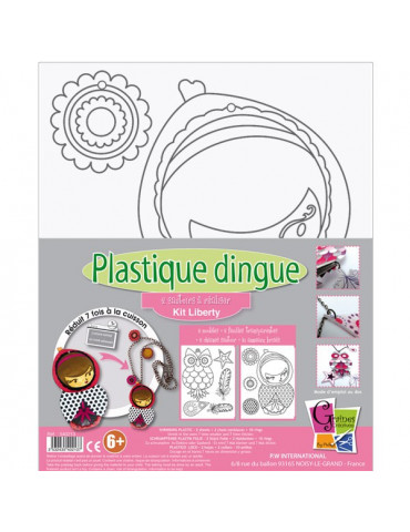 Kit Plastique dingue Sautoirs Liberty
