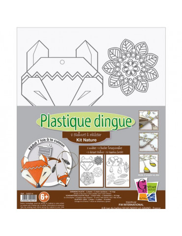 Kit Plastique dingue Nature Colliers