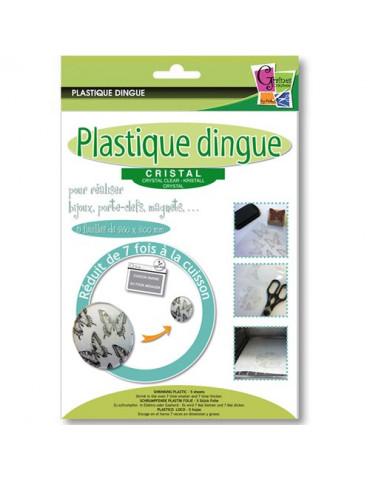 Plastique dingue cristal x5