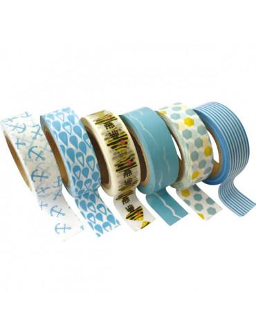 Masking tape - Assortiment Mer 15mm x10m