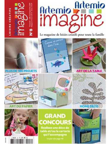 Magazine Artemio Imagine n°8