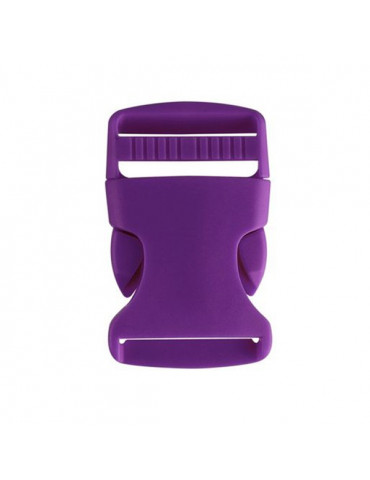 Fermoir clip fuchsia 32mm x2