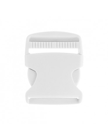 Fermoir clip blanc 50mm