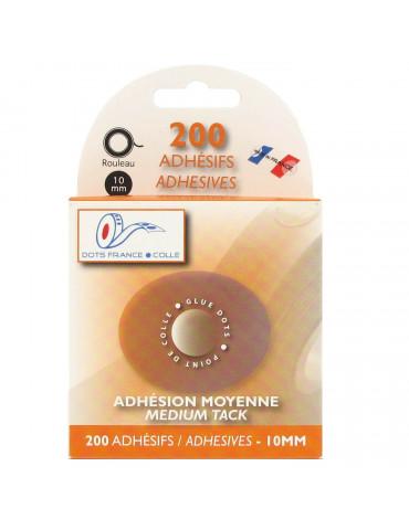 Pastille adhésive moyenne - 200 pastilles