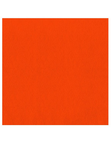 Feutrine épaisse 2mm Orange - 30x30cm