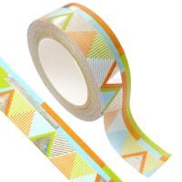 Masking tape - Aztèque argent métal 15mm x10m