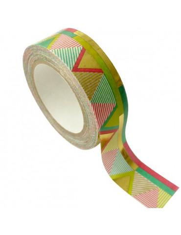 Masking tape - Aztèque Or métal 15mm x10m
