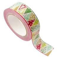 Masking tape - Sapin Or métal 15mm x10m