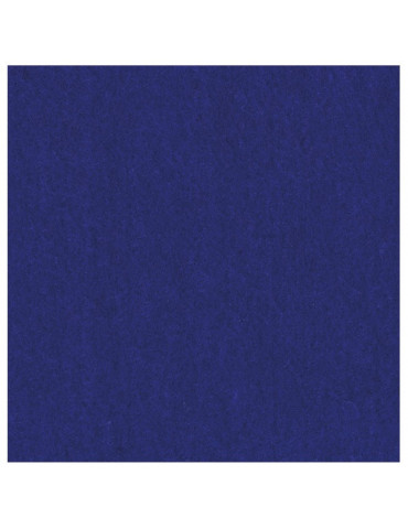 Feutrine épaisse 2mm Bleu indigo - 30x30cm
