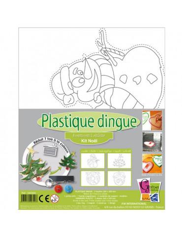 Kit Plastique dingue - Noël