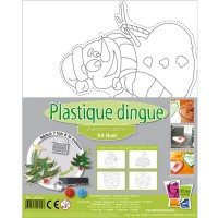 Kit Plastique dingue - Noël