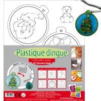Kit Plastique dingue - Boules Noel