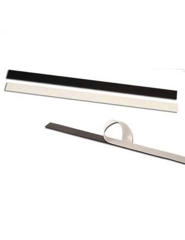 Bande magnétique adhésive x2