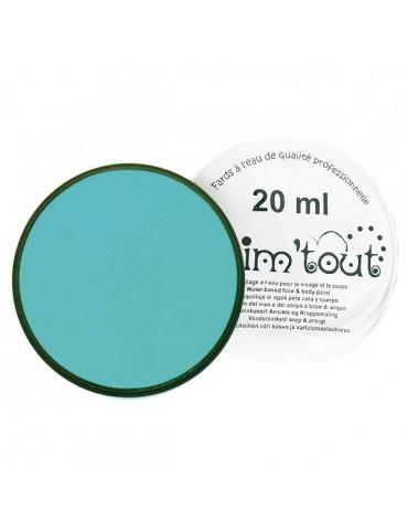 Fard maquillage GRIM'TOUT Bleu lagon 20ml