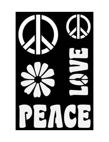Pochoir adhésif GM - Peace...