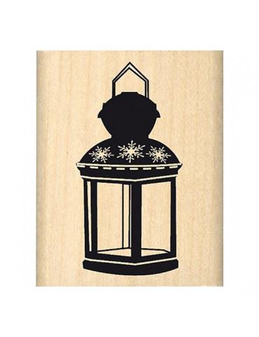 Tampon bois Lanterne - Florilèges Design