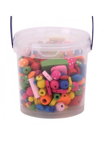 Perles bois MIX 180 g