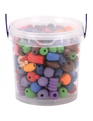 Perles bois 250gr