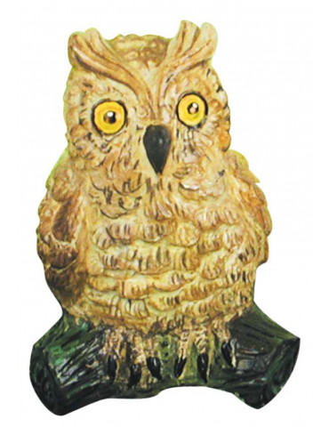 Moule latex - Hibou 9cm