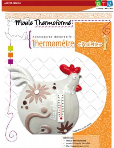 Moule thermoformé Thermomètre Poulette - DTM