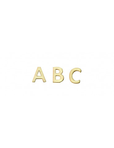 Lettres en bois - Alphabet...