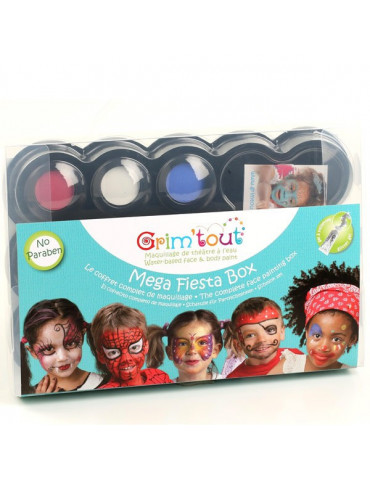 Coffret maquillage GRIM'TOUT Mega Box Fiesta