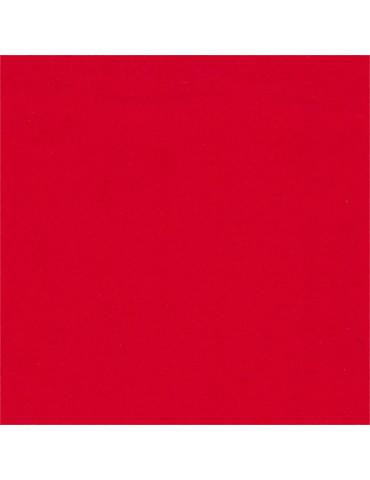 Rouleau velours adhésif rouge 5m