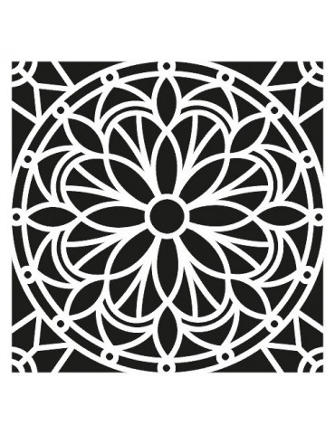 Pochoir Mandala 30x30cm - Artemio
