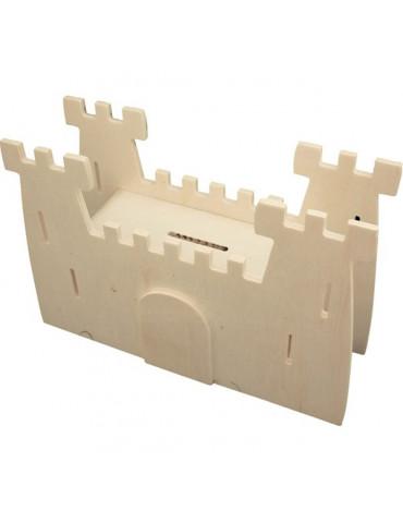 Tirelire Château Fort - A décorer