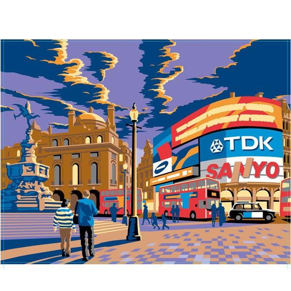Peinture par numéro - Londres Piccadilly