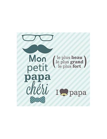 Tampons transparents - Papa...