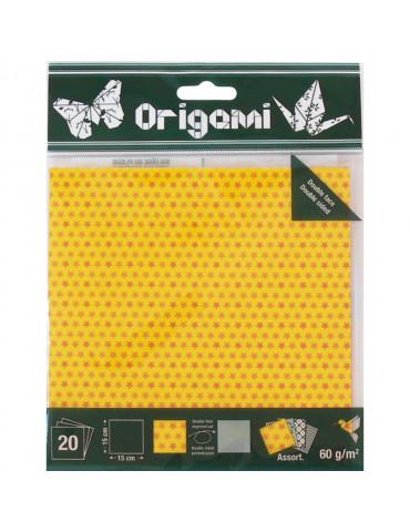 Papier origami Etoiles...