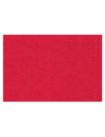Feutrine 2mm rouge