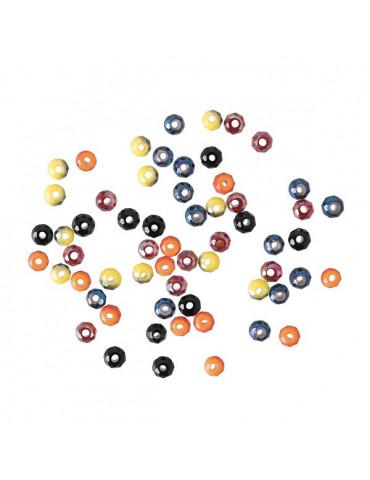 Perles à facettes Néon - 3mm - 60 perles