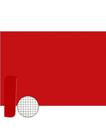 ROULEAU feutrine adhésive rouge 5m