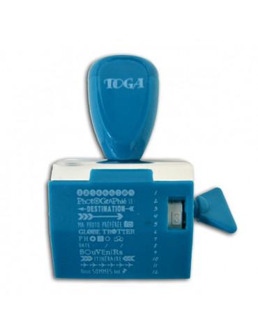 Tampon à molette - Voyage - Toga