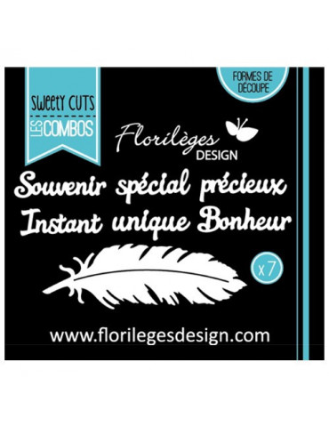 Dies Sweety Cuts - A la Plume - Florilèges Design