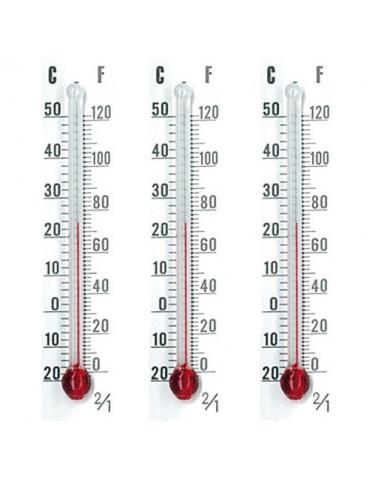 Thermomètres 5,5 cm x3