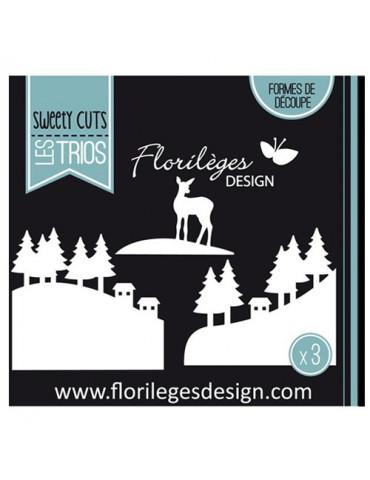Dies Sweety Cuts - Paysages d'hiver - Florilèges Design