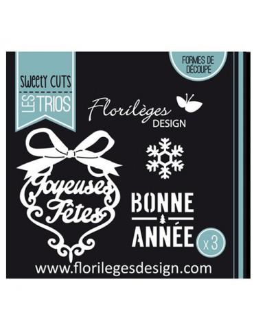 Dies Sweety Cuts - Voeux d'hiver - Florilèges Design