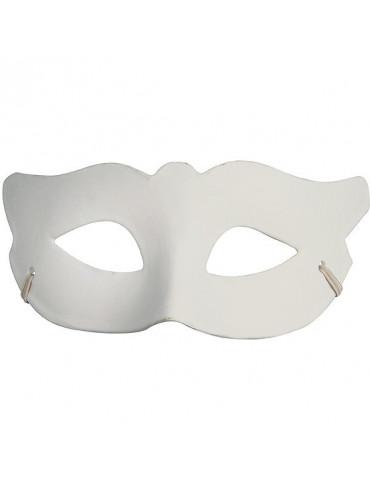Masque venise Loup - finition plâtre