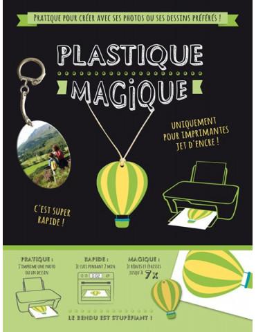 Plastique magique imprimable A4 - 2 feuilles