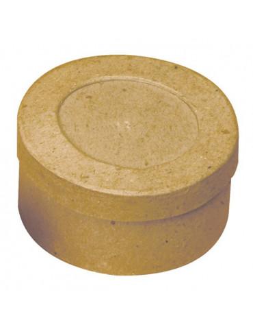 Boite carton ronde pour photo x10 - 78x40mm