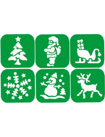 Pochoirs enfant Noël - Graine Créative