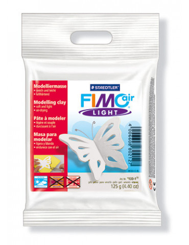 Fimo air light blanc 125 gr