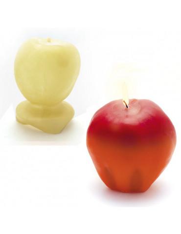 Moule bougie latex - Pomme