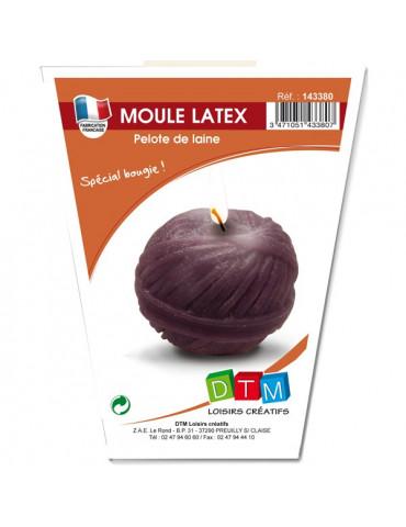 Moule bougie latex - Pelote...
